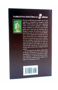 Contracubierta de MARCO DIDIO FALCO 11. UNA VIRGEN DE MÁS (Lindsey Davis) Edhasa 2003