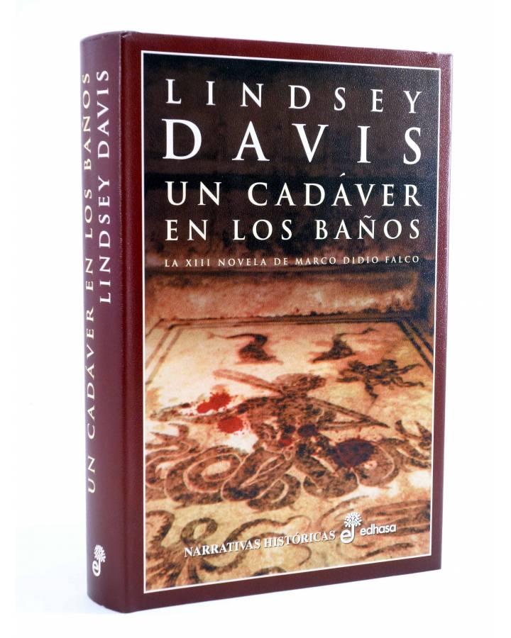 Cubierta de MARCO DIDIO FALCO 13. UN CADÁVER EN LOS BAÑOS (Lindsey Davis) Edhasa 2002