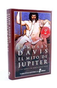 Cubierta de MARCO DIDIO FALCO 14. EL MITO DE JÚPITER (Lindsey Davis) Edhasa 2003