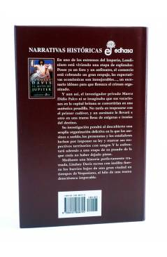 Contracubierta de MARCO DIDIO FALCO 14. EL MITO DE JÚPITER (Lindsey Davis) Edhasa 2003