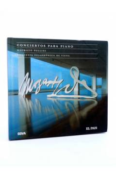 Cubierta de CD LIBRO MOZART 250 ANIVERSARIO 1. CONCIERTOS PARA PIANO (Mozart) El País 2006