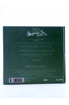 Contracubierta de CD LIBRO MOZART 250 ANIVERSARIO 1. CONCIERTOS PARA PIANO (Mozart) El País 2006
