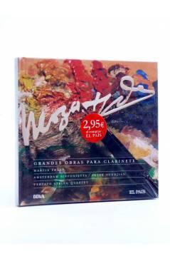 Cubierta de CD LIBRO MOZART 250 ANIVERSARIO 3. GRANDES OBRAS PARA CLARINETE (Mozart) El País 2006