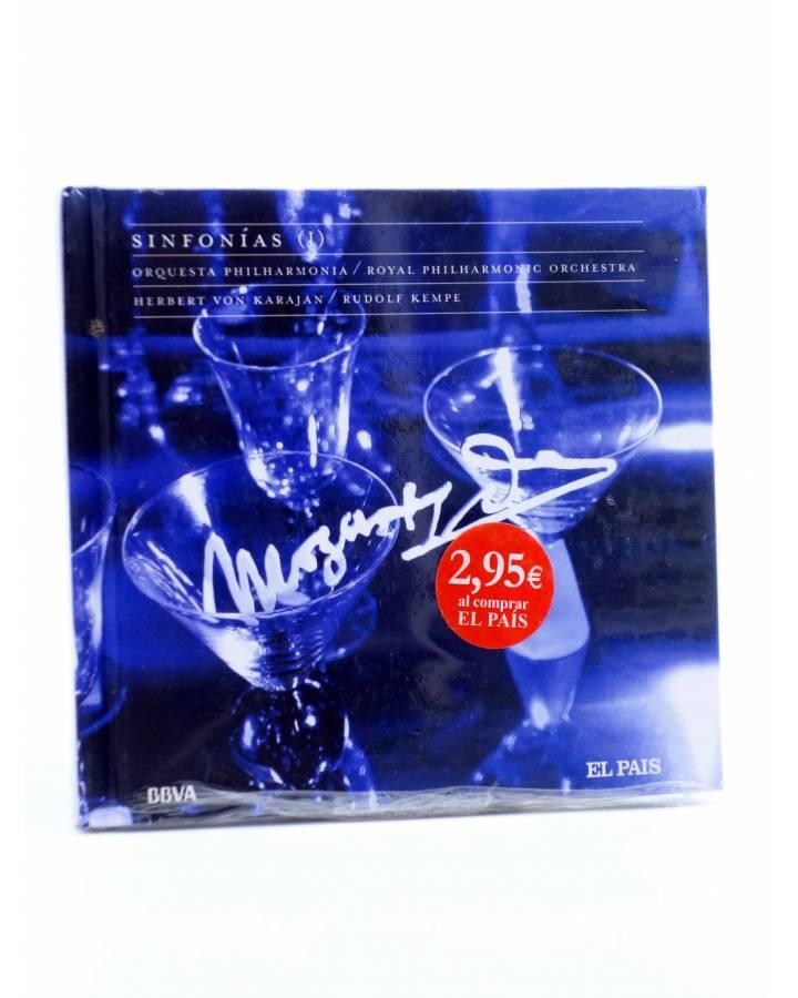 Cubierta de CD LIBRO MOZART 250 ANIVERSARIO 8. SINFONÍAS I (Mozart) El País 2006