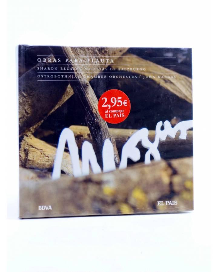 Cubierta de CD LIBRO MOZART 250 ANIVERSARIO 10. OBRAS PARA FLAUTA (Mozart) El País 2006
