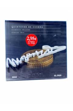 Cubierta de CD LIBRO MOZART 250 ANIVERSARIO 13. QUITETOS DE CUERDA (Mozart) El País 2006