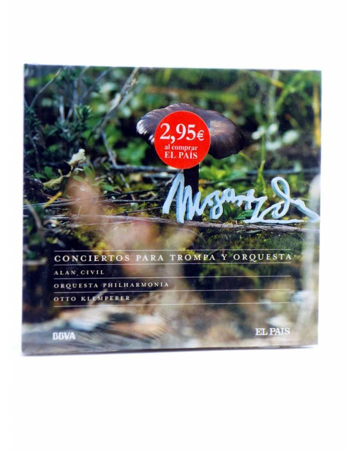 Cubierta de CD LIBRO MOZART 250 ANIVERSARIO 15. CONCIERTOS PARA TROMPA Y ORQUESTA (Mozart) El País 2006