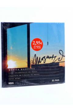 Cubierta de CD LIBRO MOZART 250 ANIVERSARIO 16. MÚSICA MASÓNICA (Mozart) El País 2006