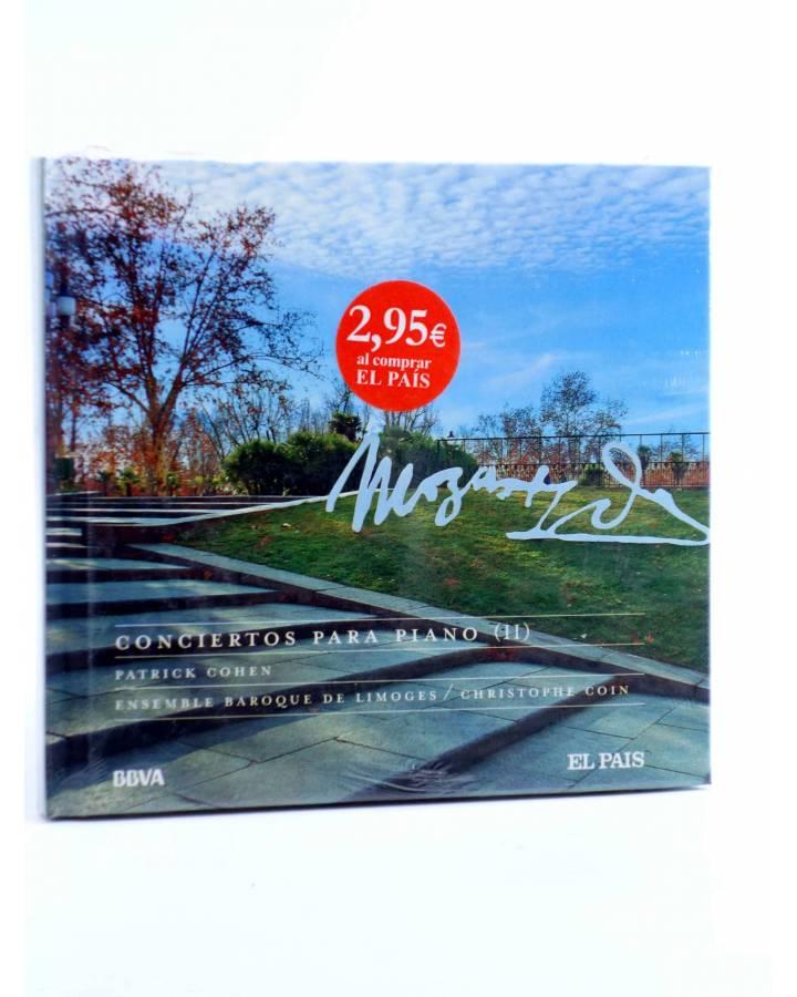 Cubierta de CD LIBRO MOZART 250 ANIVERSARIO 17. CONCIERTOS PARA PIANO II (Mozart) El País 2006