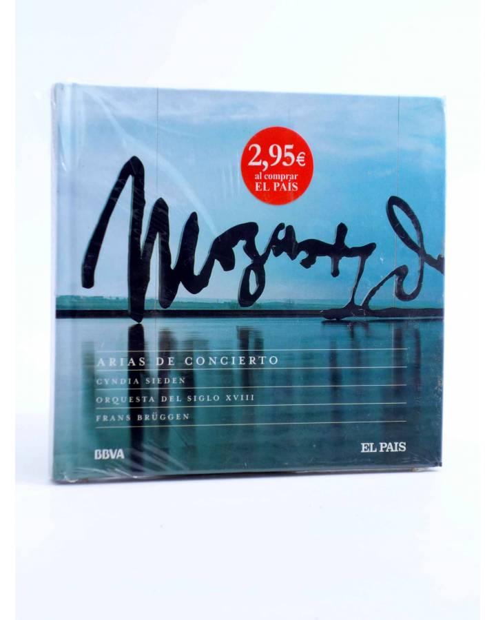 Cubierta de CD LIBRO MOZART 250 ANIVERSARIO 18. ARIAS DE CONCIERTO (Mozart) El País 2006