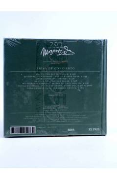 Contracubierta de CD LIBRO MOZART 250 ANIVERSARIO 18. ARIAS DE CONCIERTO (Mozart) El País 2006