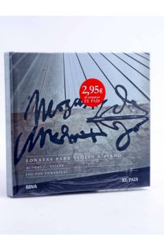 Cubierta de CD LIBRO MOZART 250 ANIVERSARIO 19. SONATAS PARA VIOLÍN Y PIANO (Mozart) El País 2006