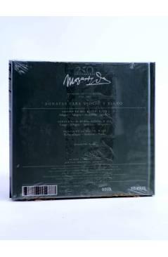 Contracubierta de CD LIBRO MOZART 250 ANIVERSARIO 19. SONATAS PARA VIOLÍN Y PIANO (Mozart) El País 2006