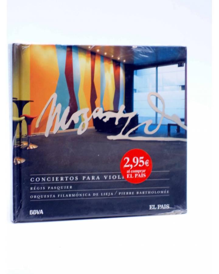 Cubierta de CD LIBRO MOZART 250 ANIVERSARIO 23. CONCIERTOS PARA VIOLÍN (Mozart) El País 2006
