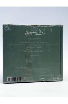 Contracubierta de CD LIBRO MOZART 250 ANIVERSARIO 23. CONCIERTOS PARA VIOLÍN (Mozart) El País 2006