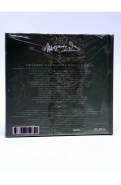 Contracubierta de CD LIBRO MOZART 250 ANIVERSARIO 24. GRANDES CANTANTES MOZARTIANOS (Mozart) El País 2006