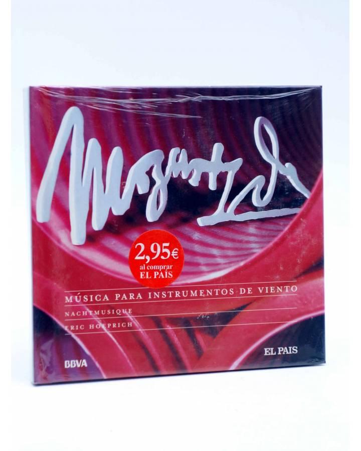 Cubierta de CD LIBRO MOZART 250 ANIVERSARIO 25. MÚSICA PARA INSTRUMENTOS DE VIENTO (Mozart) El País 2006