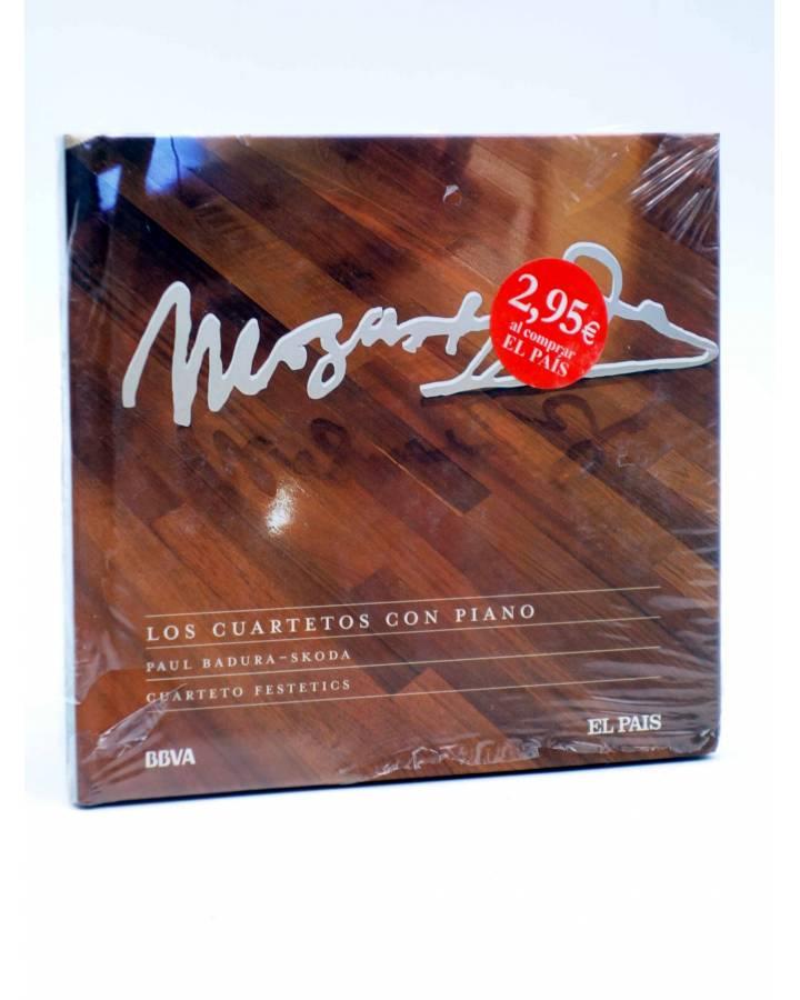 Cubierta de CD LIBRO MOZART 250 ANIVERSARIO 27. LOS CUARTETOS CON PIANO (Mozart) El País 2006