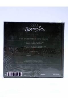 Contracubierta de CD LIBRO MOZART 250 ANIVERSARIO 27. LOS CUARTETOS CON PIANO (Mozart) El País 2006