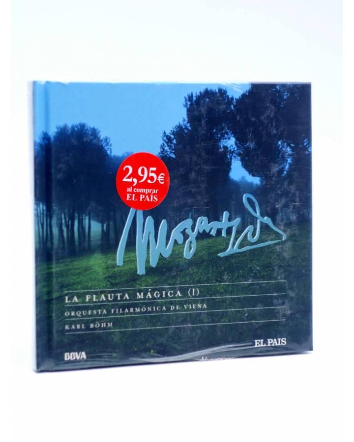 Cubierta de CD LIBRO MOZART 250 ANIVERSARIO 29. LA FLAUTA MÁGICA I (Mozart) El País 2006