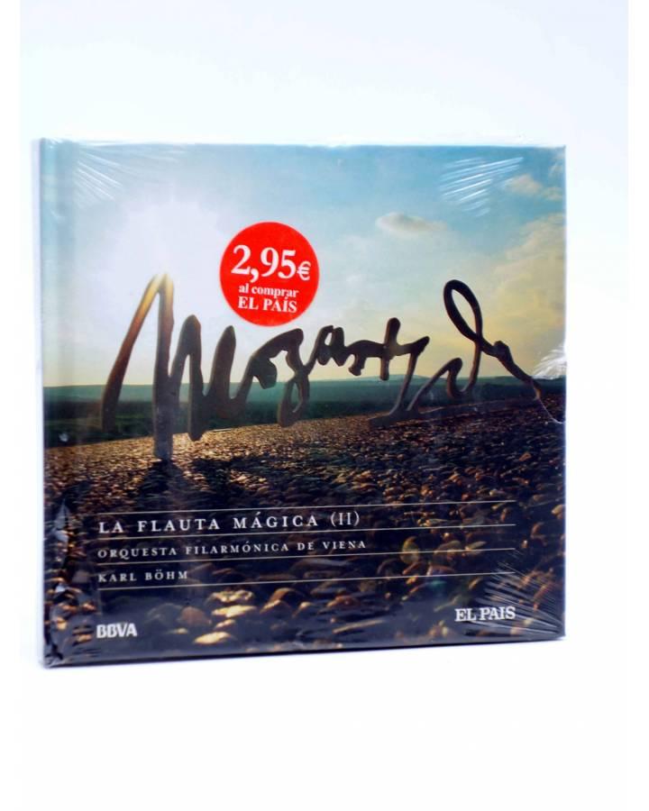 Cubierta de CD LIBRO MOZART 250 ANIVERSARIO 30. LA FLAUTA MÁGICA II (Mozart) El País 2006