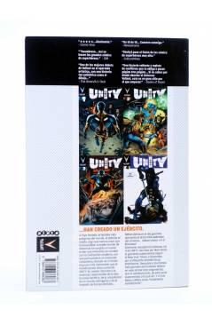 Contracubierta de UNITY VOLUMEN 1. MATAR A UN REY (Kindt / Braithwaite / Reber) Aleta 2015