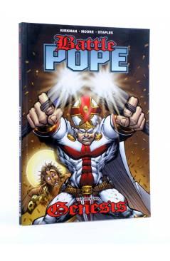 Cubierta de BATTLE POPE VOL. 1. GÉNESIS (Kirkman / Moore / Staples) Aleta 2008