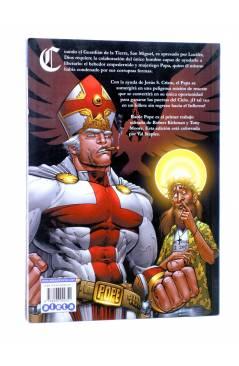 Contracubierta de BATTLE POPE VOL. 1. GÉNESIS (Kirkman / Moore / Staples) Aleta 2008