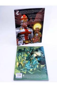 Contracubierta de BATTLE POPE VOLS. 1 Y 2. GÉNESIS / CAOS (Kirkman / Moore / Staples) Aleta 2008
