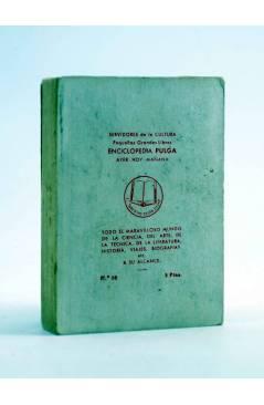 Contracubierta de ENCICLOPEDIA PULGA 10. QUO VADIS? (Henryk Sienkiewicz) G.P. Circa 1950