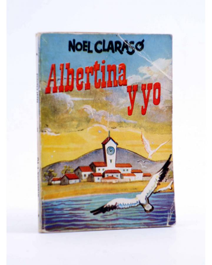 Cubierta de ENCICLOPEDIA PULGA 13. ALBERTINA Y YO (Noel Clarasó) G.P. Circa 1950