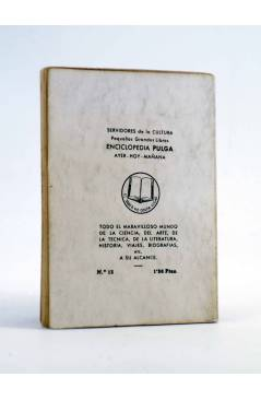 Contracubierta de ENCICLOPEDIA PULGA 13. ALBERTINA Y YO (Noel Clarasó) G.P. Circa 1950