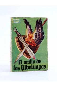 Cubierta de ENCICLOPEDIA PULGA 16. EL ANILLO DE LOS NIBELUNGOS (Santos Bosch) G.P. Circa 1950