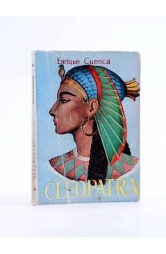 Cubierta de ENCICLOPEDIA PULGA 22. CLEOPATRA (Enrique Cuenca) G.P. Circa 1950