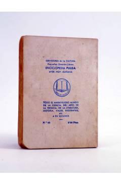 Contracubierta de ENCICLOPEDIA PULGA 25. HABÍA UNA VEZ… (Leonidas Andreiew) G.P. Circa 1950