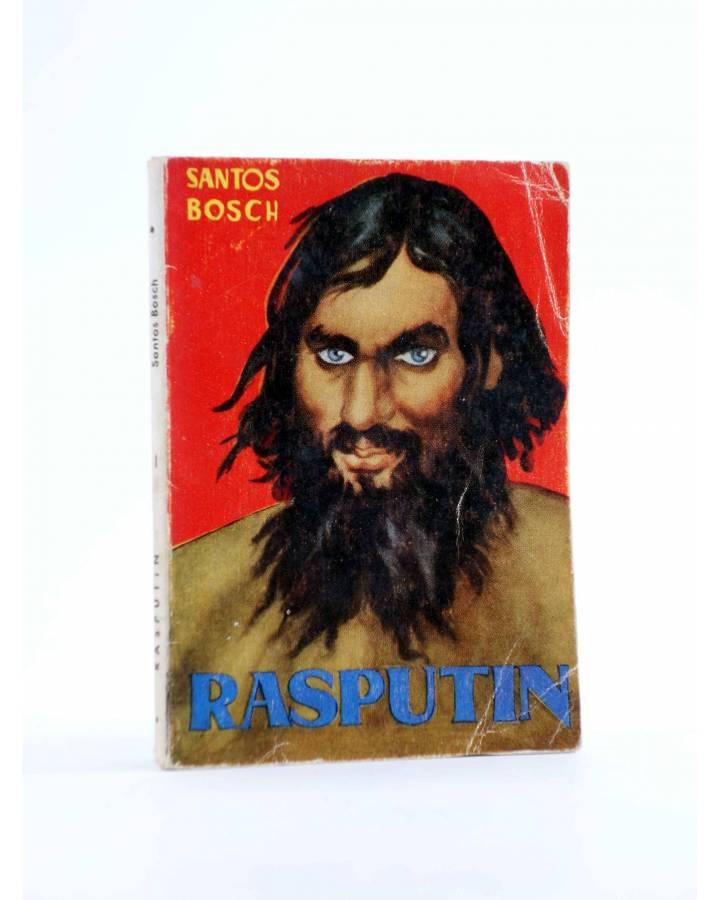 Cubierta de ENCICLOPEDIA PULGA 26. RASPUTÍN (Santos Bosch) G.P. Circa 1950