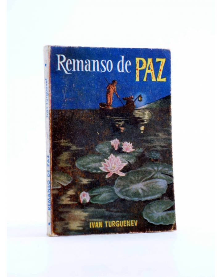 Cubierta de ENCICLOPEDIA PULGA 55. REMANSO DE PAZ (Ivan Turguenev) G.P. Circa 1950