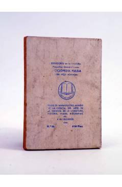 Contracubierta de ENCICLOPEDIA PULGA 55. REMANSO DE PAZ (Ivan Turguenev) G.P. Circa 1950