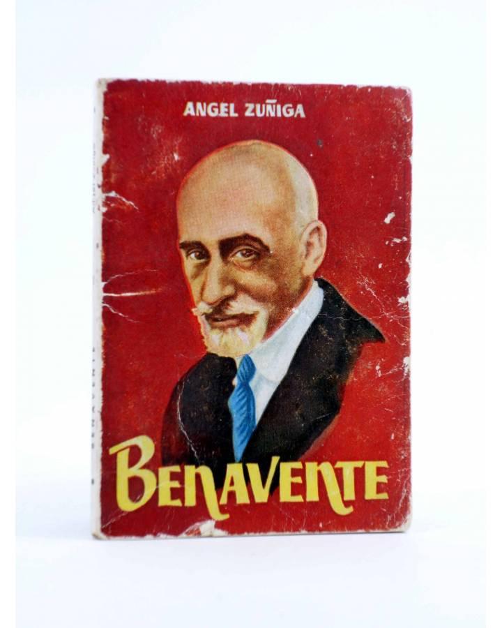 Cubierta de ENCICLOPEDIA PULGA 66. BENAVENTE (Ángel Zuñiga) G.P. Circa 1950