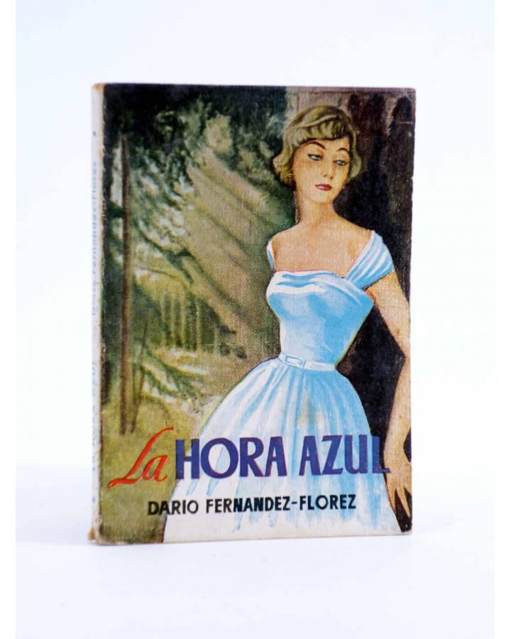 Cubierta de ENCICLOPEDIA PULGA 115. LA HORA AZUL (Dario Fernández Flórez) G.P. Circa 1950