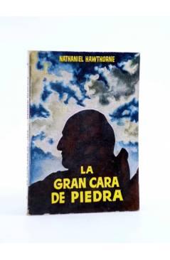 Cubierta de ENCICLOPEDIA PULGA 131. LA GRAN CARA DE PIEDRA (Nathaniel Hawthorne) G.P. Circa 1950