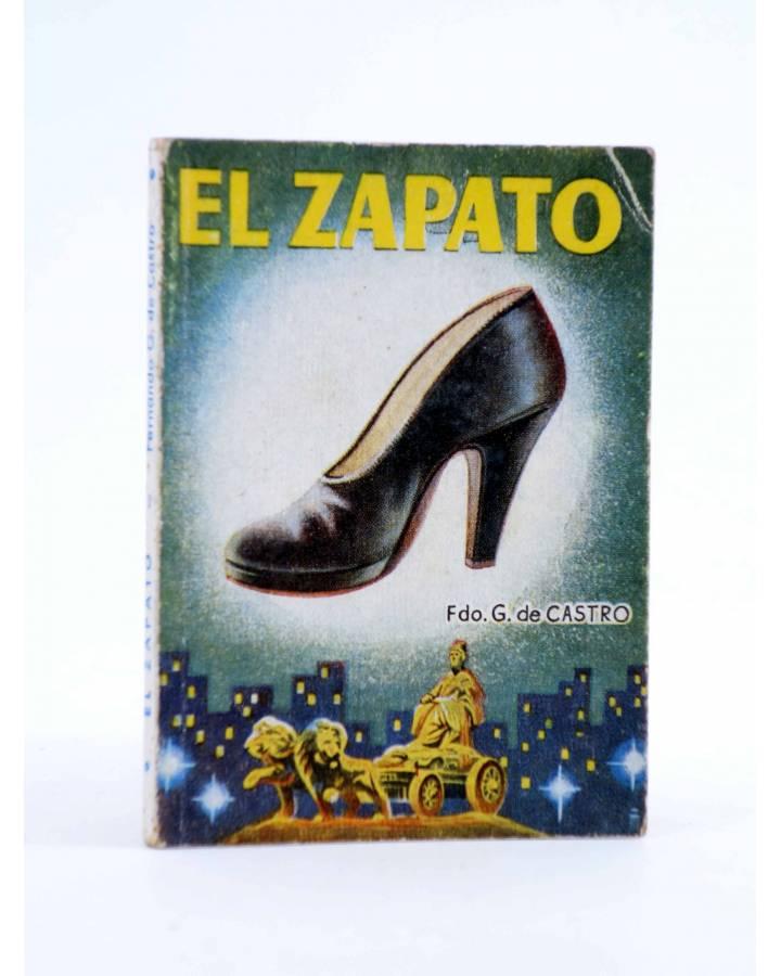 Cubierta de ENCICLOPEDIA PULGA 225. EL ZAPATO (F. Guillermo De Castro) G.P. Circa 1950