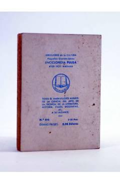 Contracubierta de ENCICLOPEDIA PULGA 225. EL ZAPATO (F. Guillermo De Castro) G.P. Circa 1950