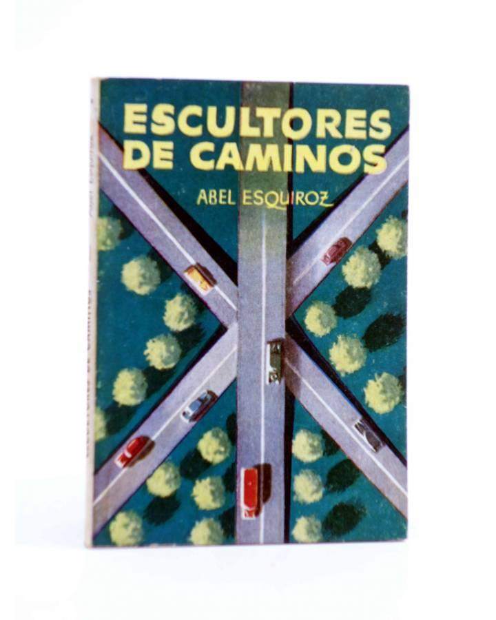 Cubierta de ENCICLOPEDIA PULGA 346. ESCULTORES DE CAMINOS (Abel Esquiroz) G.P. Circa 1950
