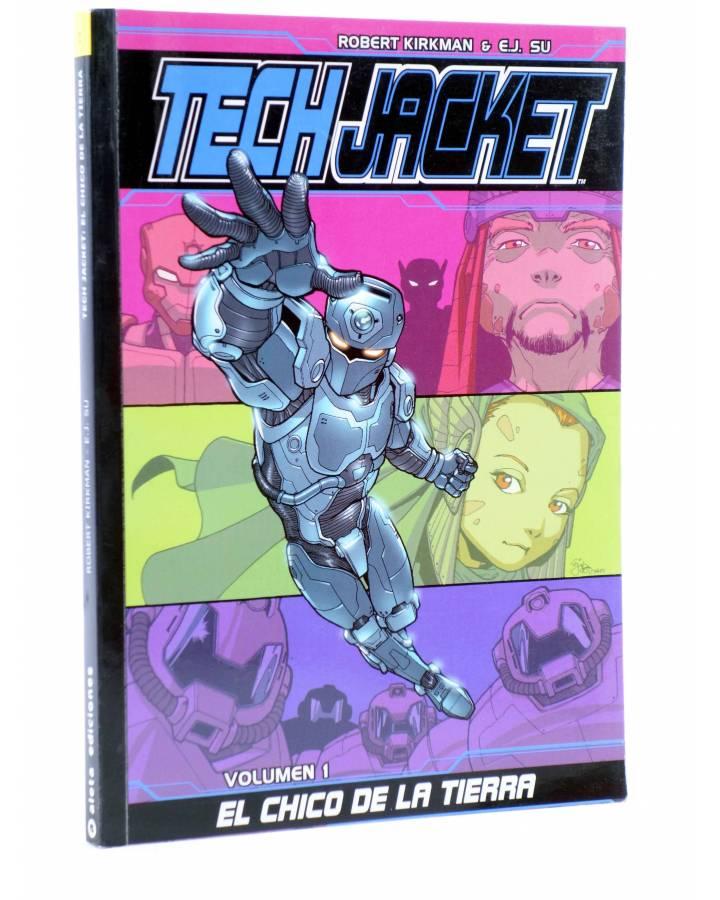Cubierta de TECH JACKET 1. EL CHICO DE LA TIERRA (Robert Kirkman / E.J. Su) Aleta 2014