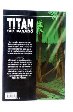 Contracubierta de TITÁN DEL PASADO (Jordi Bayarri) Aleta 2003
