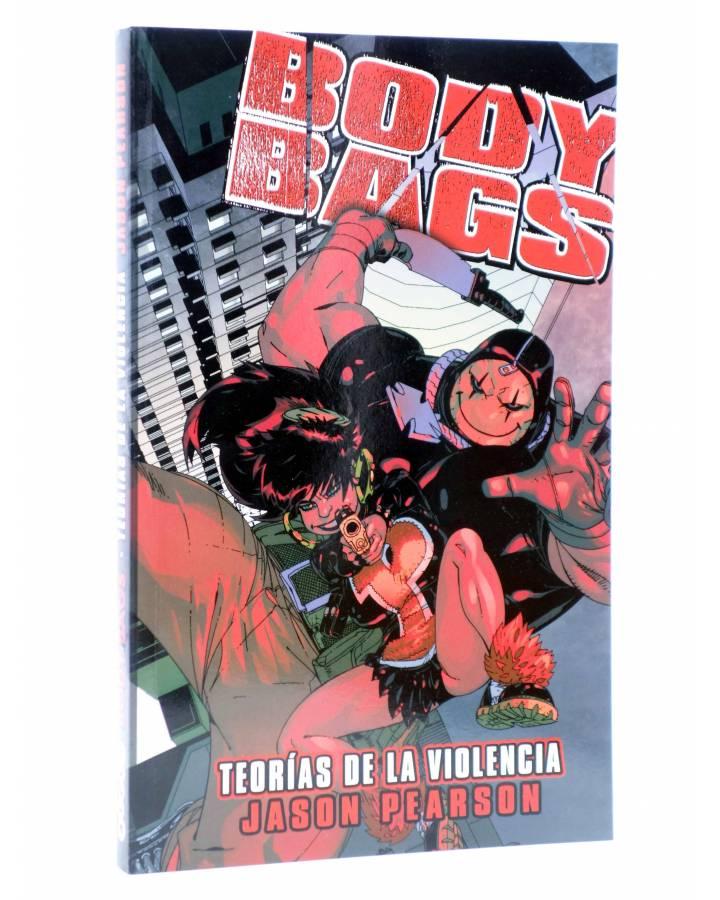Cubierta de BODY BAGS. TEORÍAS DE LA VIOLENCIA (Jason Pearson) Aleta 2013