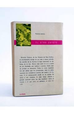 Contracubierta de EL COYOTE 6. EL COYOTE ACORRALADO (José Mallorquí) Cid 1961