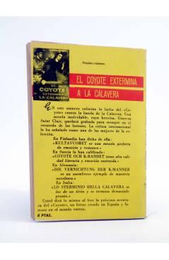 Contracubierta de EL COYOTE 9. EL COYOTE EN LA SIERRA DEL ORO (José Mallorquí) Cid 1961