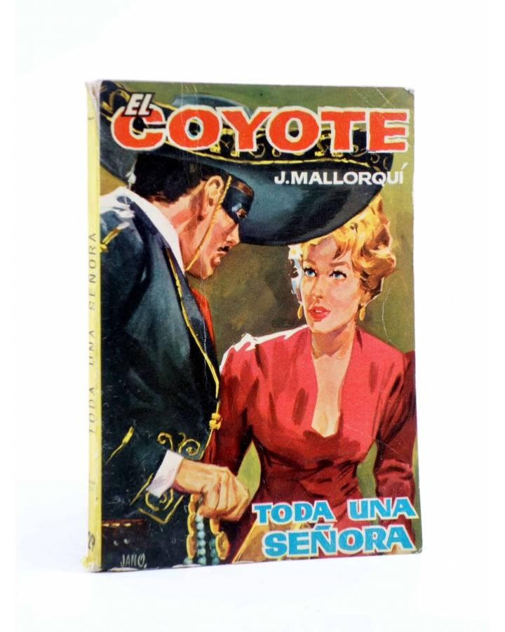Cubierta de EL COYOTE 29. TODA UNA SEÑORA (José Mallorquí) Cid 1961